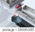 車間通信でトラックが幹線道路に合流したいSUVとの出会い頭事故を回避。コネクテッドカーコンセプト 39395395