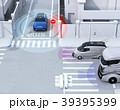 車間通信で幹線道路に合流するSUVがミニバンとの出会い頭事故を回避。コネクテッドカーコンセプト 39395399