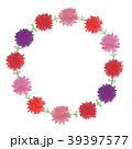 カーネーション 花 リースのイラスト 39397577