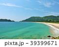宮崎県 夏の青空と青い海 39399671