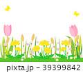 春の野原(チューリップあり) 39399842