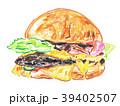 ハンバーガー 39402507