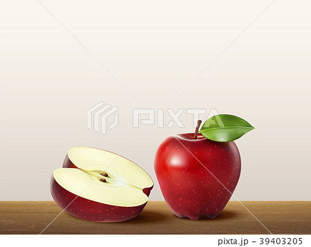Delicious red apple 39403205