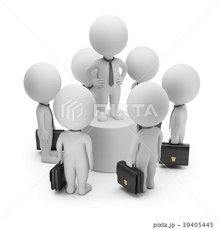 3d small people - speech 39405445