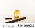 ウイスキー ロック オンザロックの写真 39409928