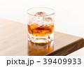 ウイスキー ウヰスキー ロックの写真 39409933