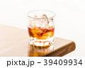 ウイスキー ウヰスキー ロックの写真 39409934