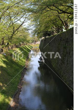 金沢城 水堀 39411187