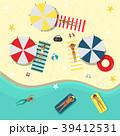 ビーチ 浜辺 夏のイラスト 39412531