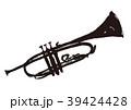 トランペット 水彩画 39424428