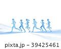 ランナー 水彩 手描き 39425461