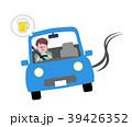 男性 運転 車のイラスト 39426352