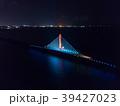 沖縄 海中道路 夜景 ライトアップ 39427023