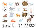 動物 きつね キツネのイラスト 39429882