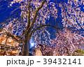 祇園白川 夜桜 桜の写真 39432141