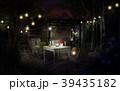 庭 チェア テーブルのイラスト 39435182