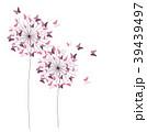 蝶 紙 ペーパーのイラスト 39439497