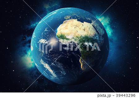 3D Rendering World Globe. Earth Globe with 39443296
