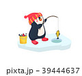 ぺんぎん ペンギン サカナのイラスト 39444637