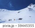 宝剣岳 雪山 千畳敷カールの写真 39445355