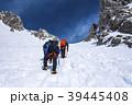 雪 雪山 山の写真 39445408