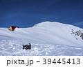 木曽駒ヶ岳 冬山 積雪の写真 39445413
