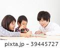 家族 お絵かき 人物の写真 39445727
