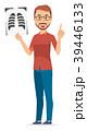 ベクター 男性 髭のイラスト 39446133