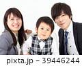 若い家族写真 39446244