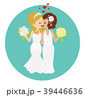同性婚-キスするレズビアンカップル 39446636