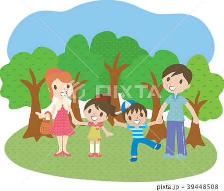 ピクニック 遠足 家族 39448508