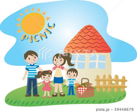 ピクニック 遠足 家族 39448679