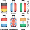 旅行用バッグ スーツケース 国旗のイラスト 39450244