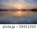 琵琶湖夕景 39451505