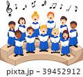 少年 男の子 合唱団のイラスト 39452912