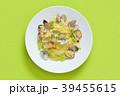 春キャベツとアサリとアンチョビのパスタ、スパゲティ、イタリアン料理。 39455615