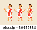 ローマ ベクトル 男のイラスト 39459338