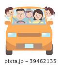 家族 車 運転のイラスト 39462135