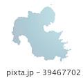 地図 マップ ドットマップのイラスト 39467702