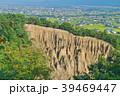 阿波の土柱(波濤嶽)と徳島平野 39469447
