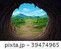 岩穴 岩窟 石窟のイラスト 39474965