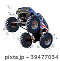マンガ 漫画 トラックのイラスト 39477034
