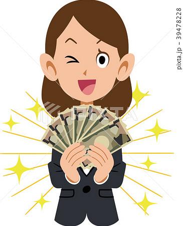 働く女性とお金 39478228