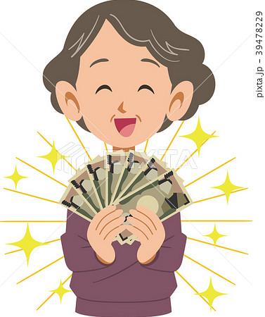 女性とお金 シニア 39478229