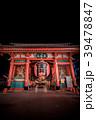 浅草浅草寺 夜の雷門 39478847
