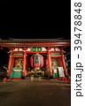浅草浅草寺 夜の雷門 39478848