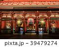 宝蔵門 浅草寺 ライトアップの写真 39479274