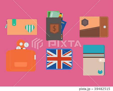 Purse wallet vector money shopping buy business 39482515