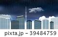 東京 スカイツリー 雨のイラスト 39484759