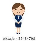 女性 働く ベクターのイラスト 39484798